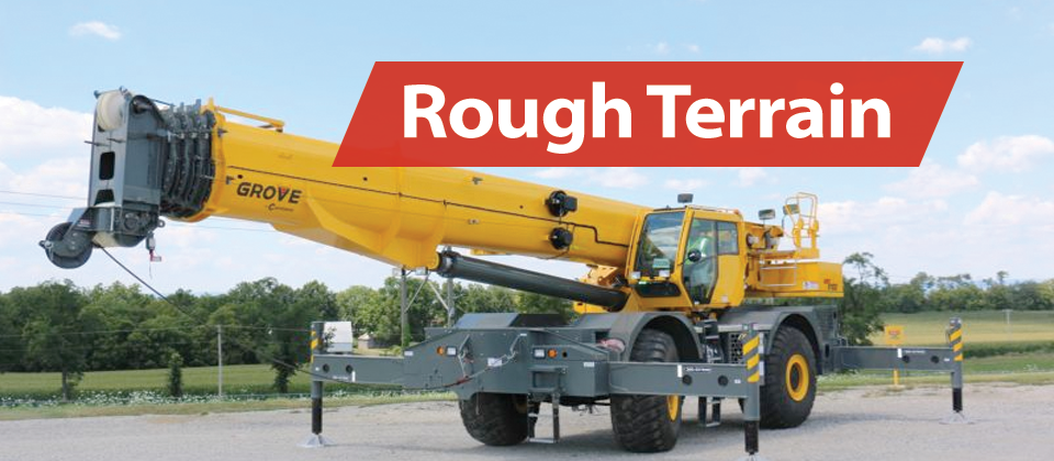 Broderson Manufacturing Rough Terrain Crane RT400